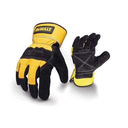 Dewalt DeWalt Rigger Gloves Black/Yellow